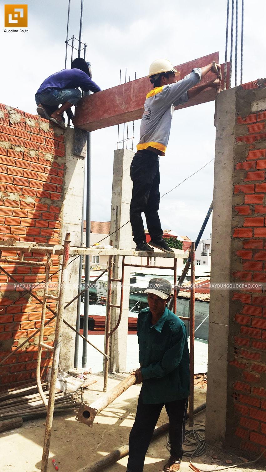 Công tác xây tường bao, tường ngăn - Ảnh 3