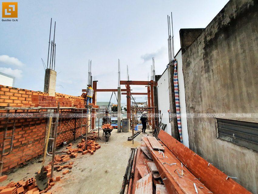 Công tác xây tường bao, tường ngăn - Ảnh 2
