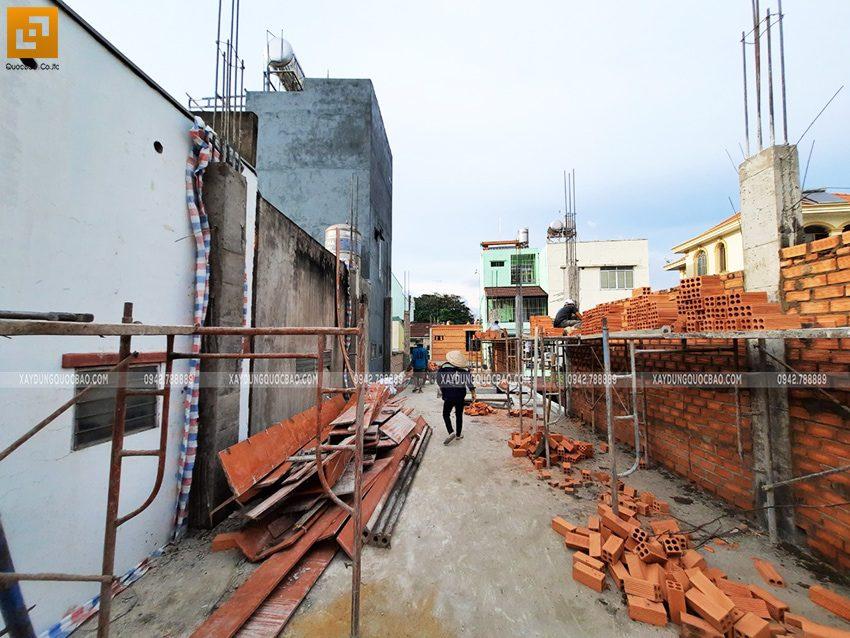 Công tác xây tường bao, tường ngăn - Ảnh 1