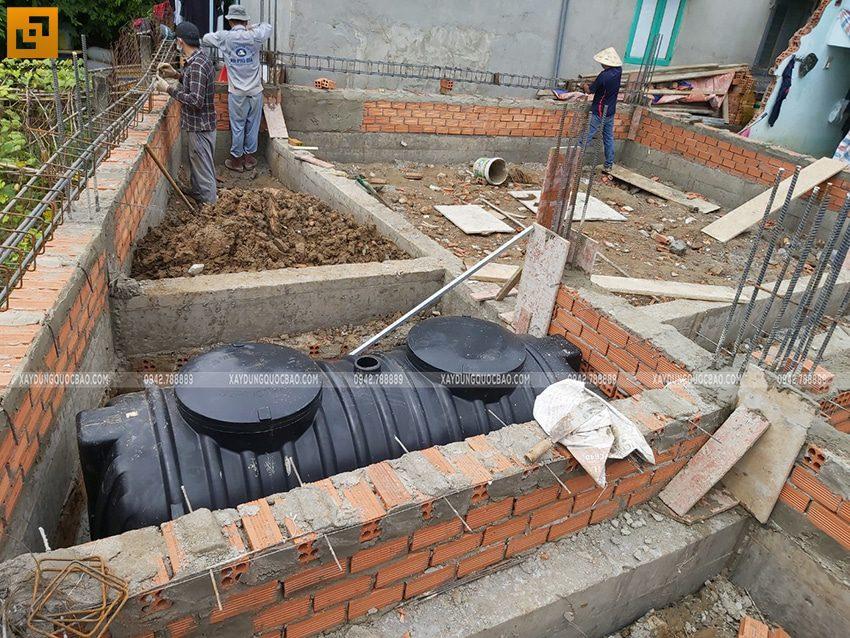 Thi công phần móng nhà 3 tầng - Ảnh 3