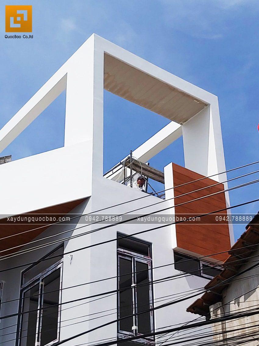 Thi công hoàn thiện nhà 3 tầng chị Phương - Ảnh 1