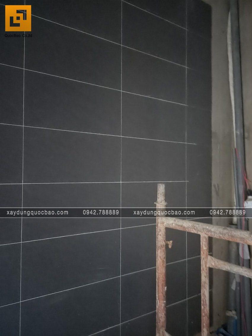 Công tác ốp lát gạch các phòng trong nhà - Ảnh 5