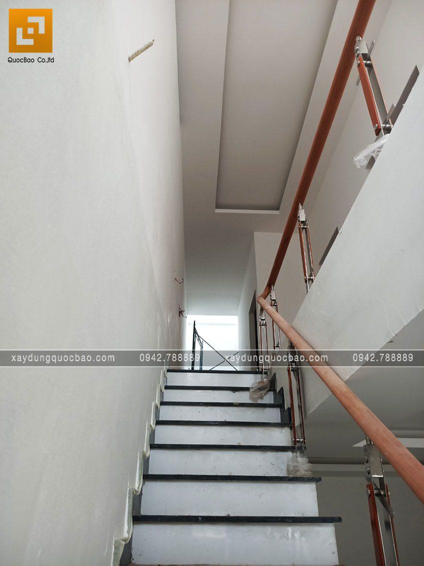 Hoàn tất công tác lăn sơn nước nội thất
