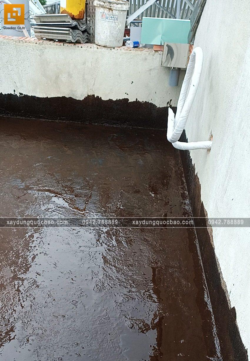 Thi công chống thấm bằng sika phòng vệ sinh