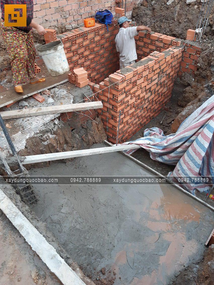 Công tác thi công phần móng nhà - Ảnh 5
