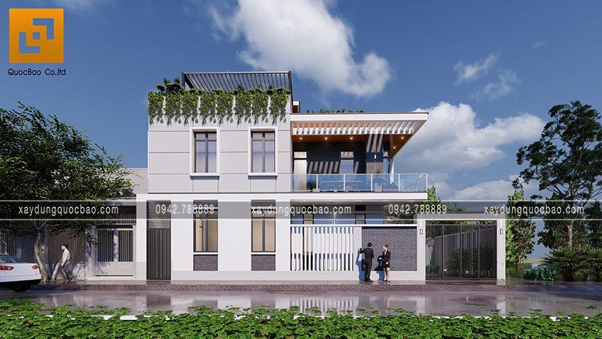Nhà phố 3 tầng tuyệt đẹp của gia đình chị Ngân tại Biên Hòa