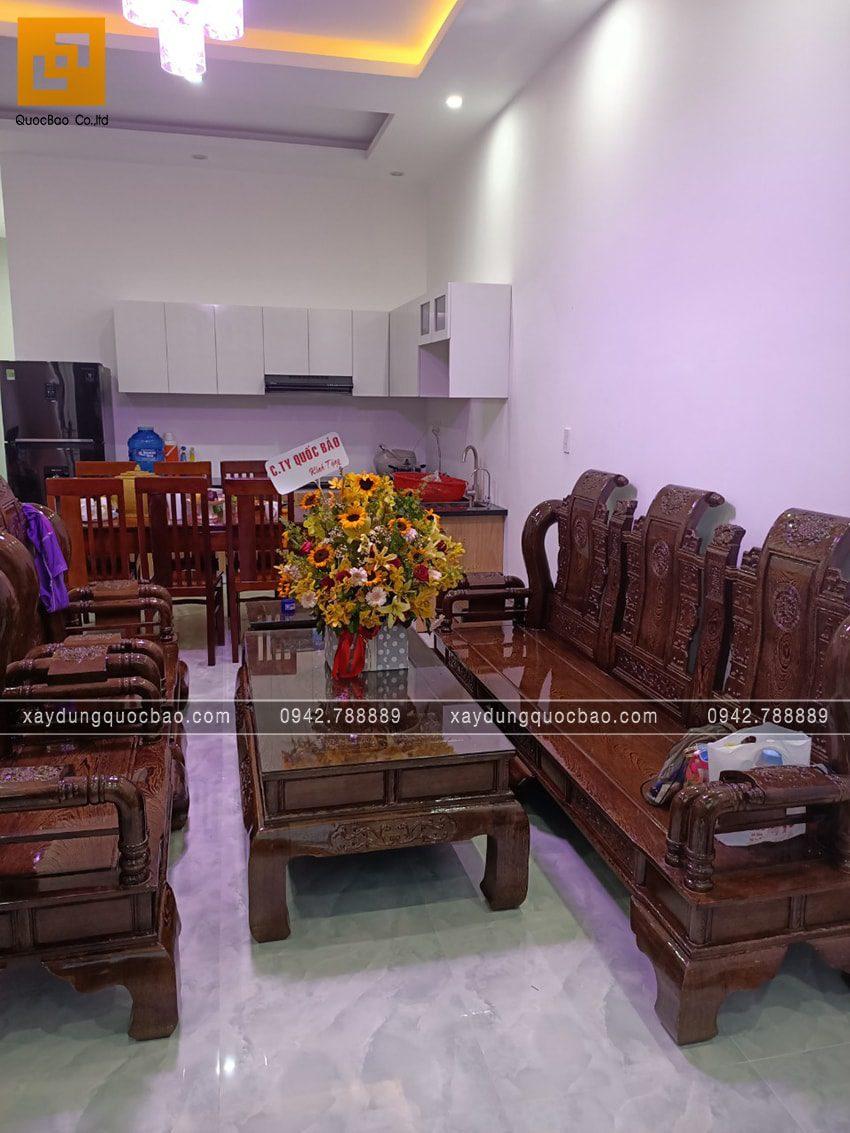 Bàn giao nhà mái thái 2 tầng cho gia đình chị Dung tại Biên Hòa - Ảnh 6