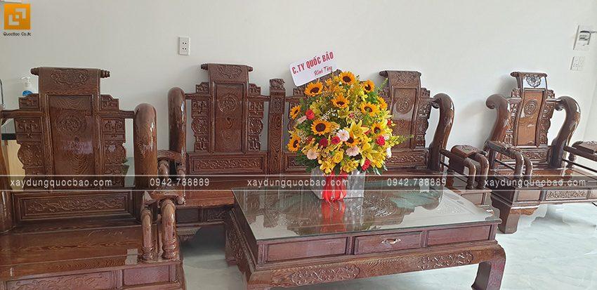Bàn giao nhà mái thái 2 tầng cho gia đình chị Dung tại Biên Hòa - Ảnh 5