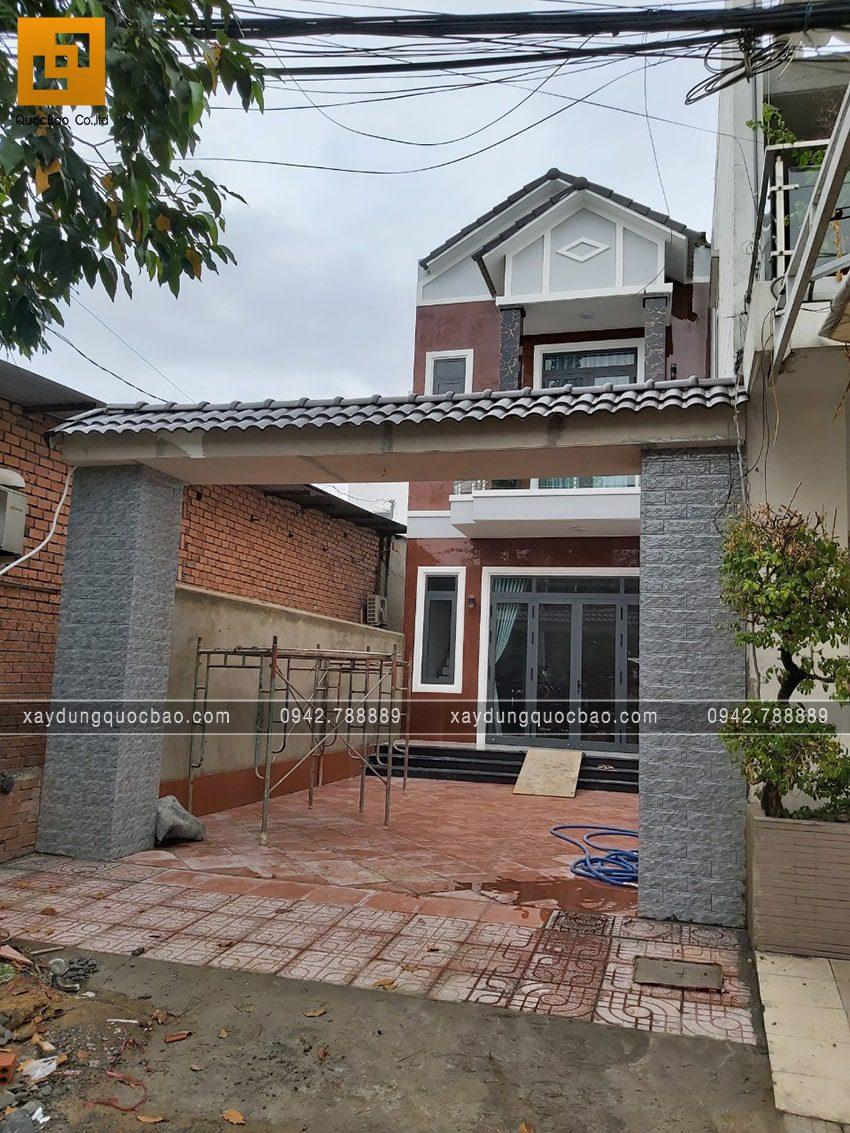 Công trình sau 4 tháng thi công đã hoàn tất và sẵn sàng   cho gia chủ dọn về nhà mới