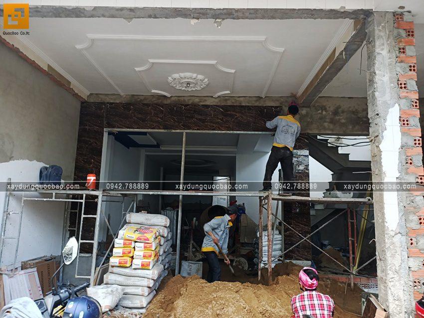 Công tác ốp lát gạch trong nhà - Ảnh 4