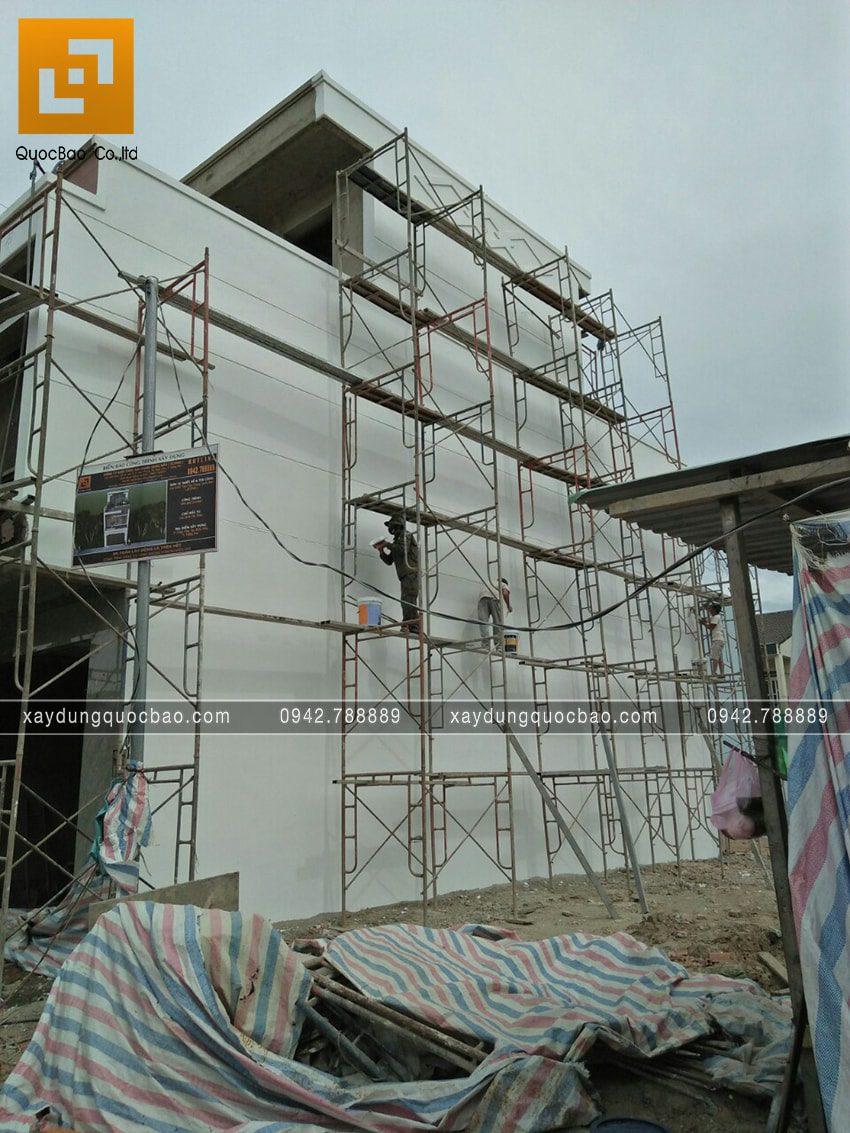Thi công hoàn thiện nhà 3 tầng chị Thủy - Ảnh 6