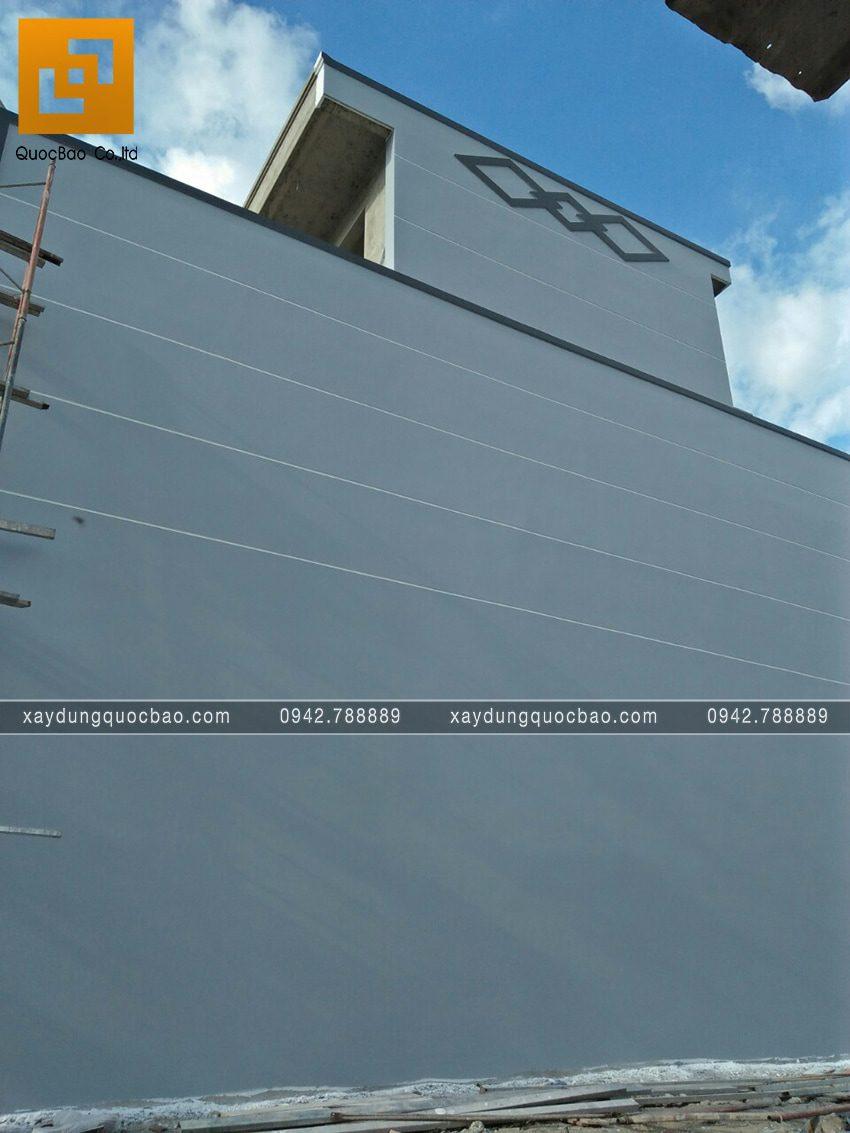 Thi công hoàn thiện nhà 3 tầng chị Thủy - Ảnh 14