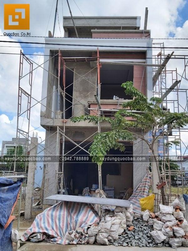 Thi công hoàn thiện nhà 3 tầng chị Thủy - Ảnh 9