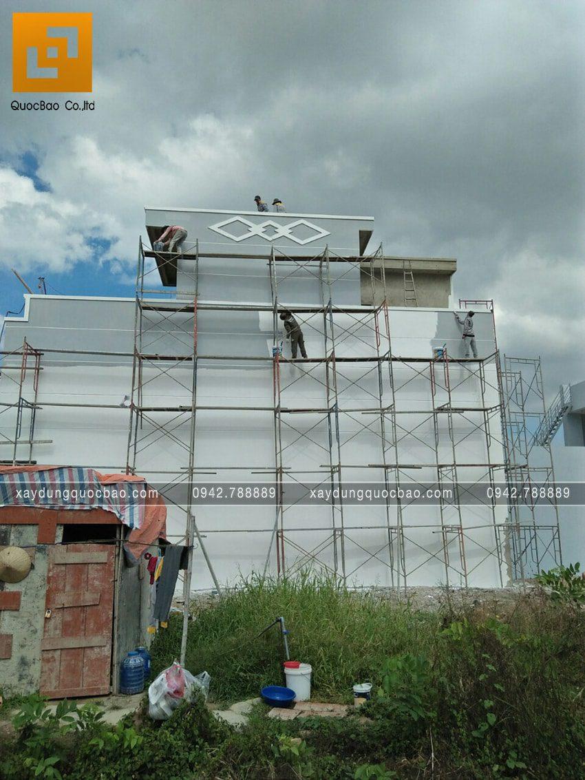 Thi công hoàn thiện nhà 3 tầng chị Thủy - Ảnh 8