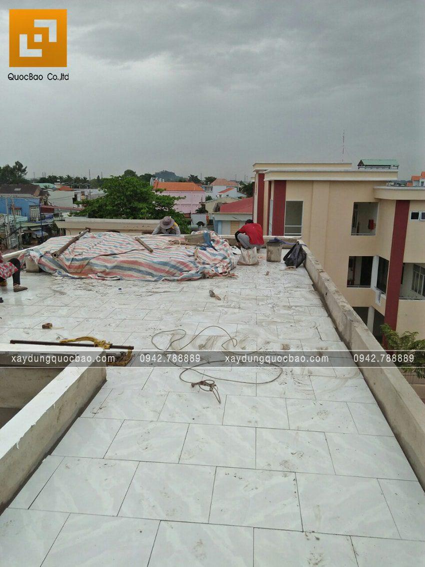 Thi công hoàn thiện nhà 3 tầng chị Thủy - Ảnh 5