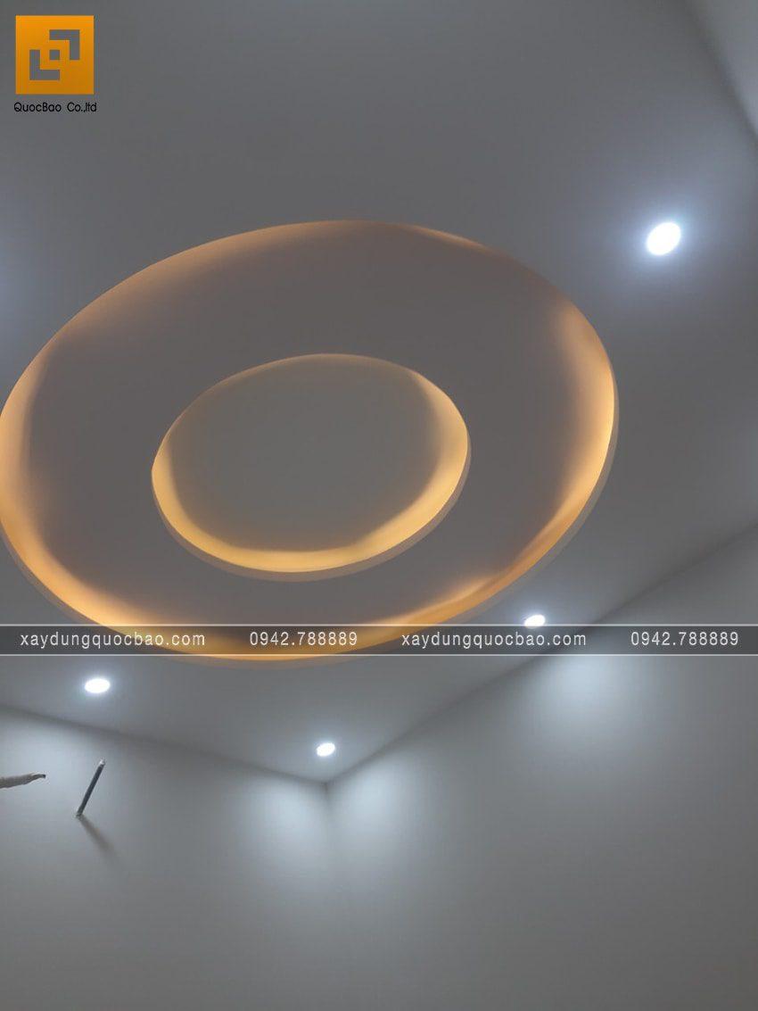 Đèn hắt trần thạch cao tạo hiệu ứng ánh sáng đẹp mặt cho trần nhà