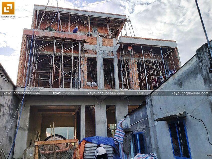 Công tác hoàn thiện nhà song lập tại Vĩnh Cửu