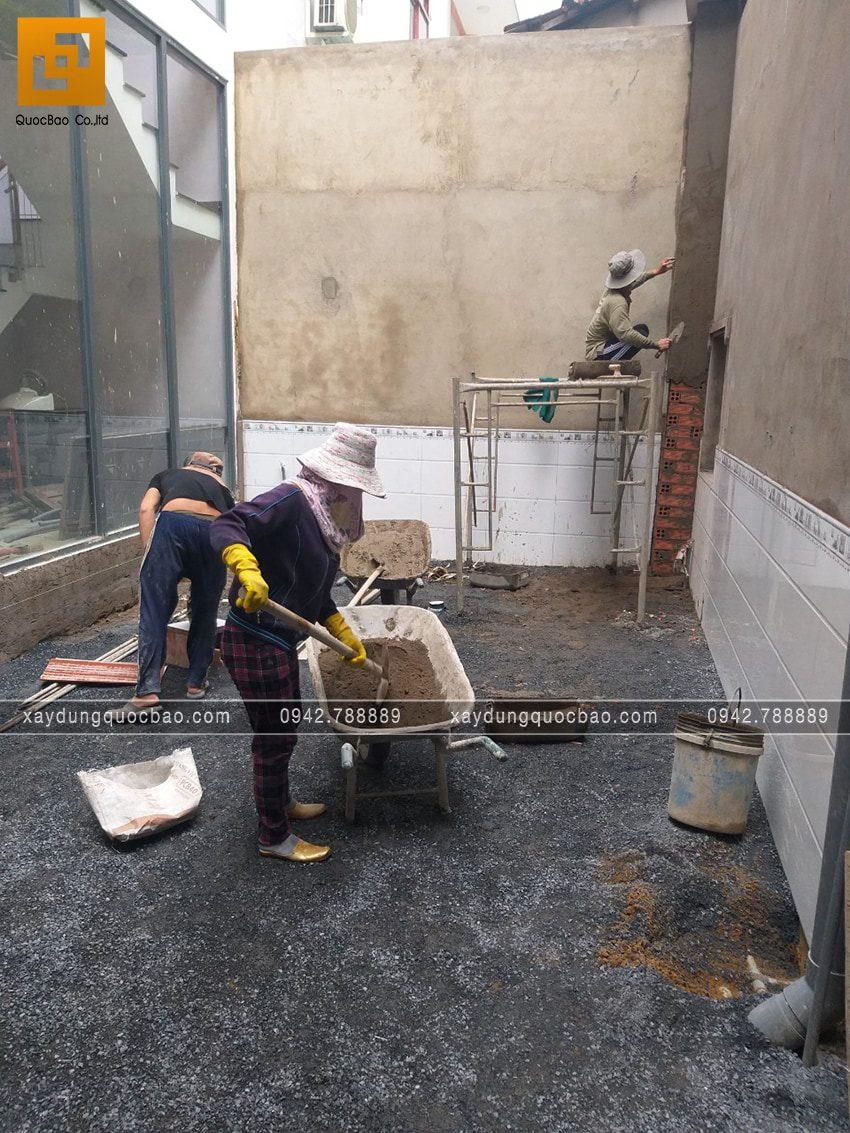 Công tác thi công ốp lát gạch - Ảnh 4