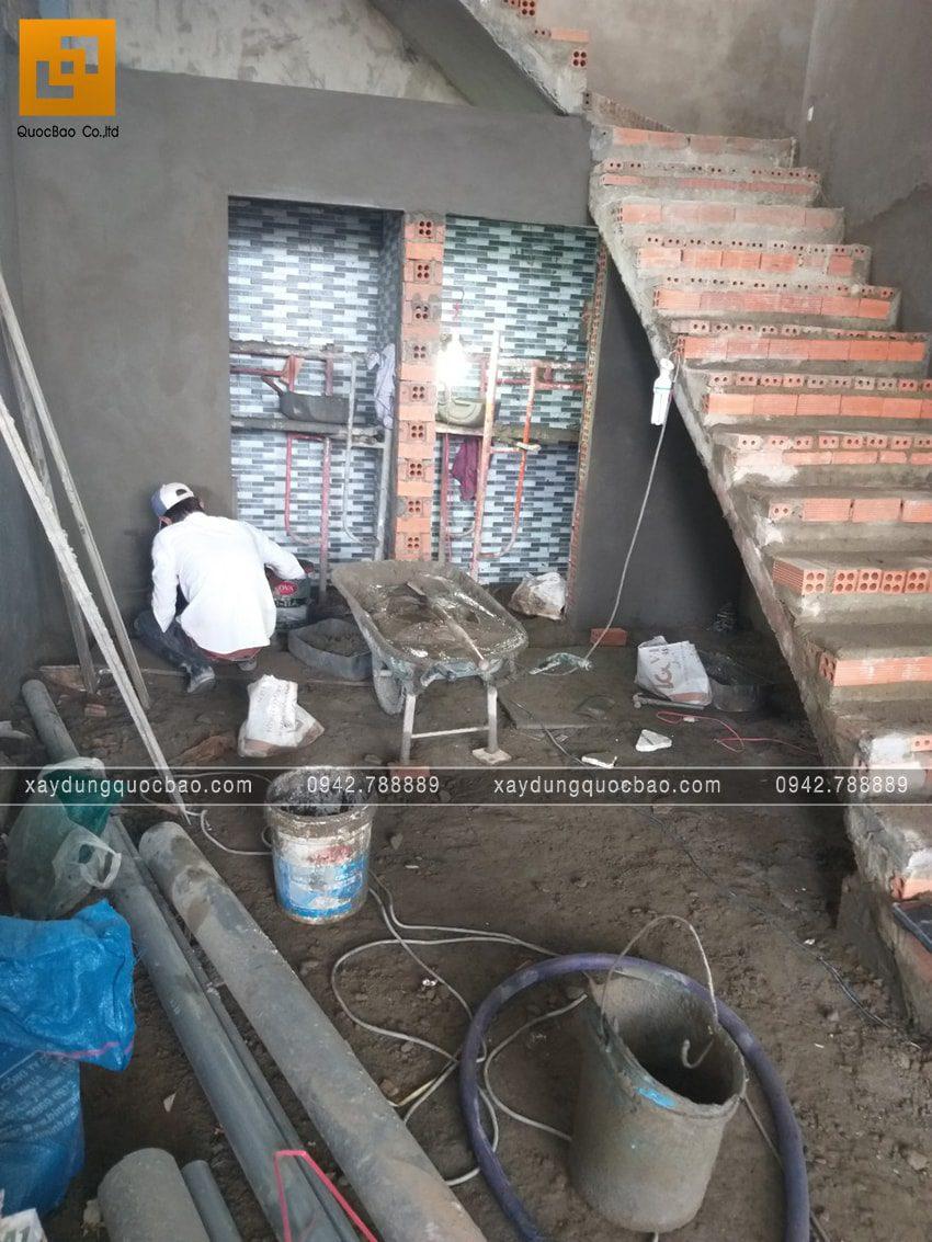 Công tác thi công ốp lát gạch - Ảnh 1