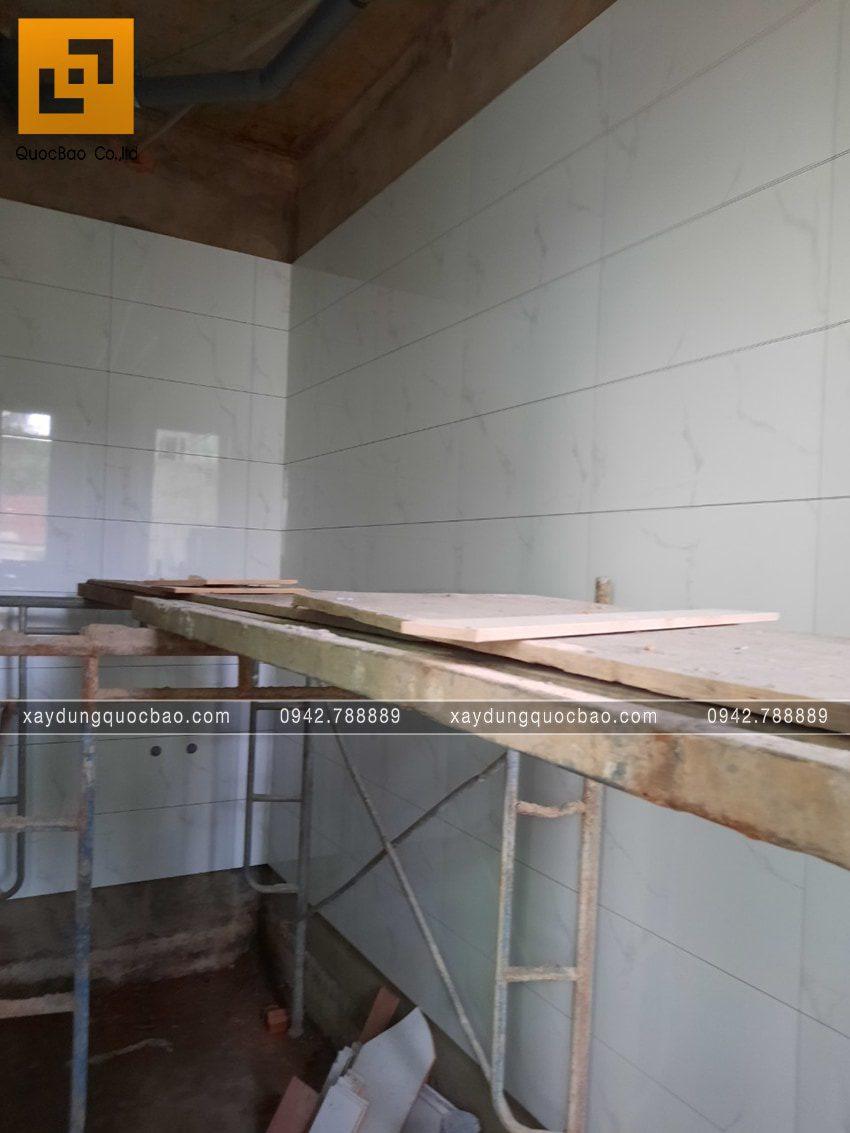 Công tác ốp lát gạch tường và nền nhà