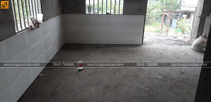 Công tác ốp lát gạch trong nhà - Ảnh 2