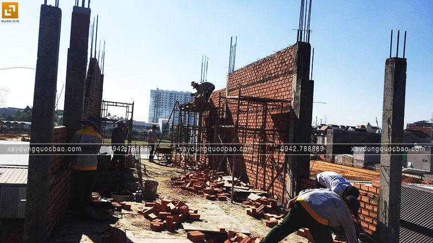 Thi công phần thô nhà anh Thức tại Biên Hòa - Ảnh 8