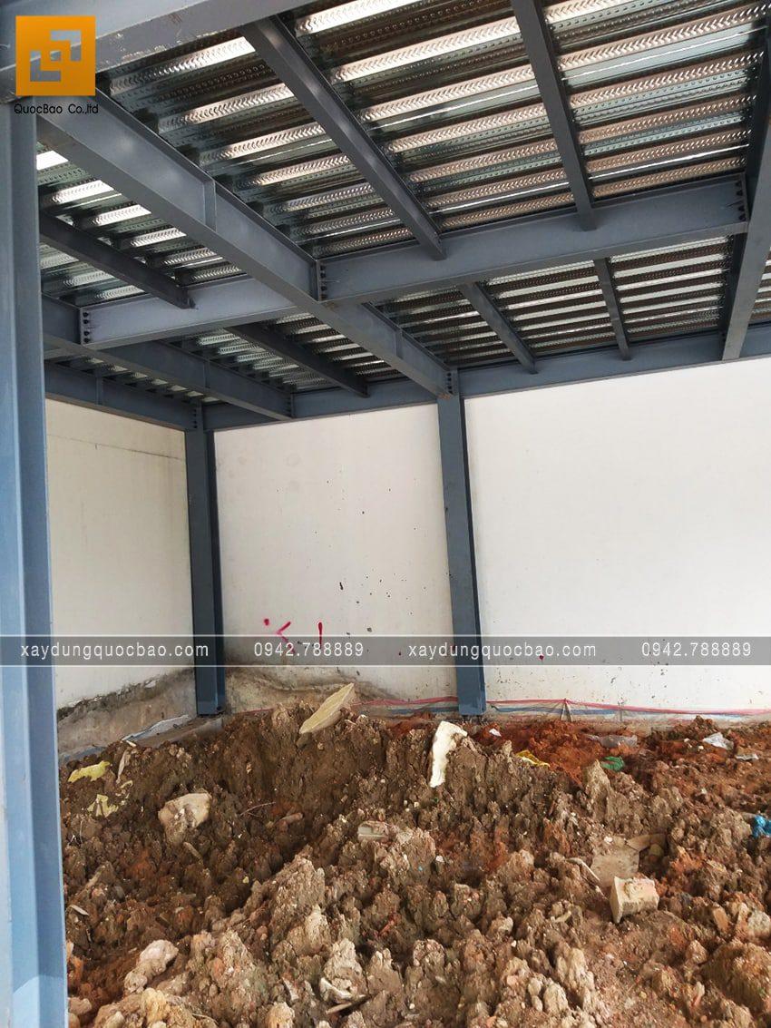 Tiến độ thi công phần thô quán cafe 2 tầng tại Biên Hòa - Ảnh 1