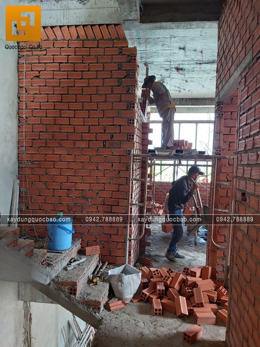 Thi công hoàn thiện nhà phố 2 tầng chị Ngân - Ảnh 9