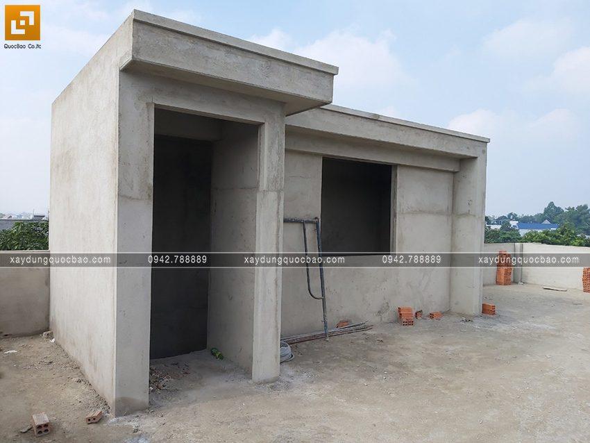 Thi công hoàn thiện nhà phố 2 tầng chị Ngân - Ảnh 6