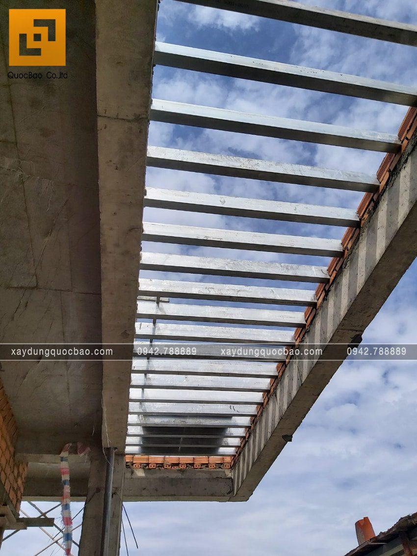 Thi công hoàn thiện nhà phố 2 tầng chị Ngân - Ảnh 8