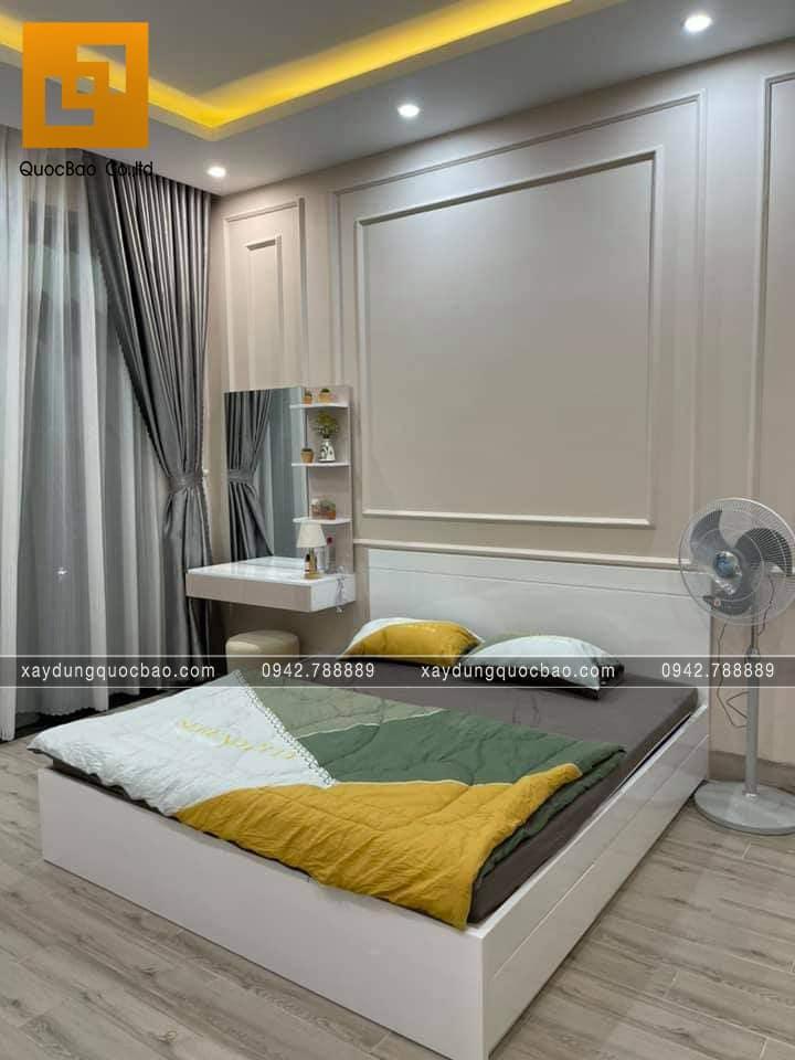 Trang trí nội thất phòng ngủ nhà 3 tầng - Ảnh 1
