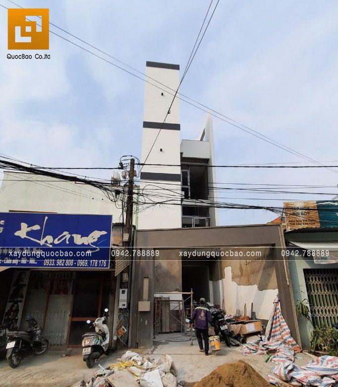 Công tác thi công hoàn thiện nhà 4 tầng - Ảnh 12
