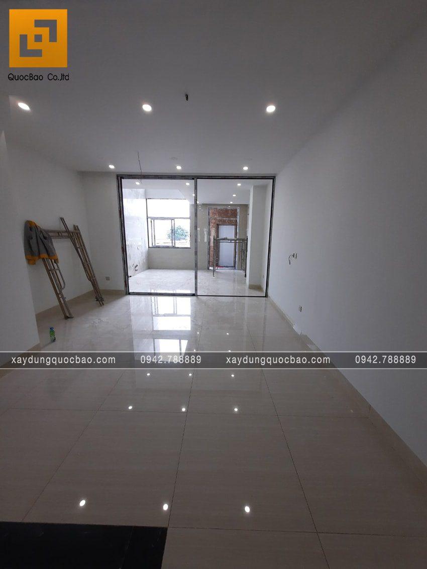 Công tác thi công hoàn thiện nhà 4 tầng - Ảnh 8