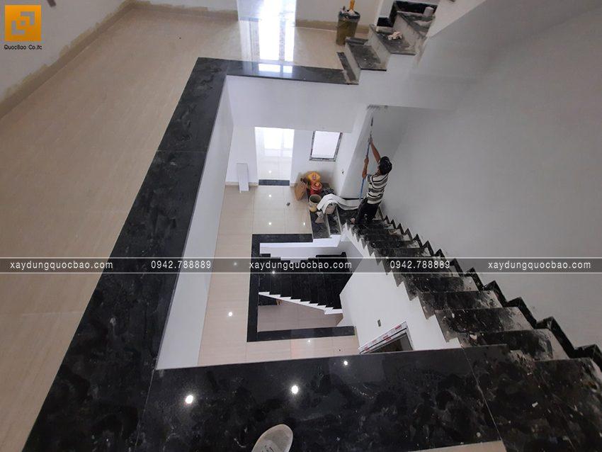 Công tác thi công hoàn thiện nhà 4 tầng - Ảnh 11