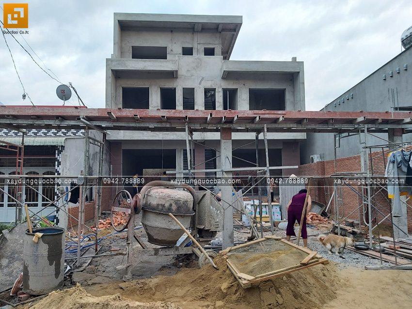 Thi công hoàn thiện nhà song lập 3 tầng - Ảnh 11