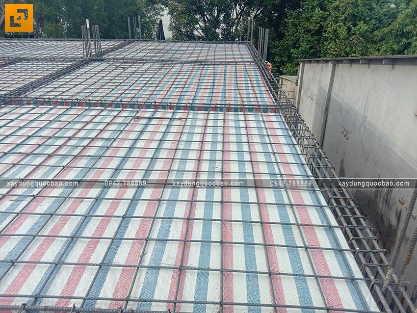 Thi công phần thô tầng trệt biệt thự vườn tại Vĩnh Cửu - Ảnh 36