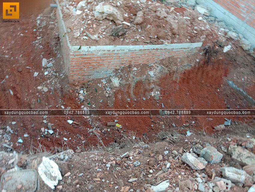 Thi công phần thô tầng trệt biệt thự vườn tại Vĩnh Cửu - Ảnh 17