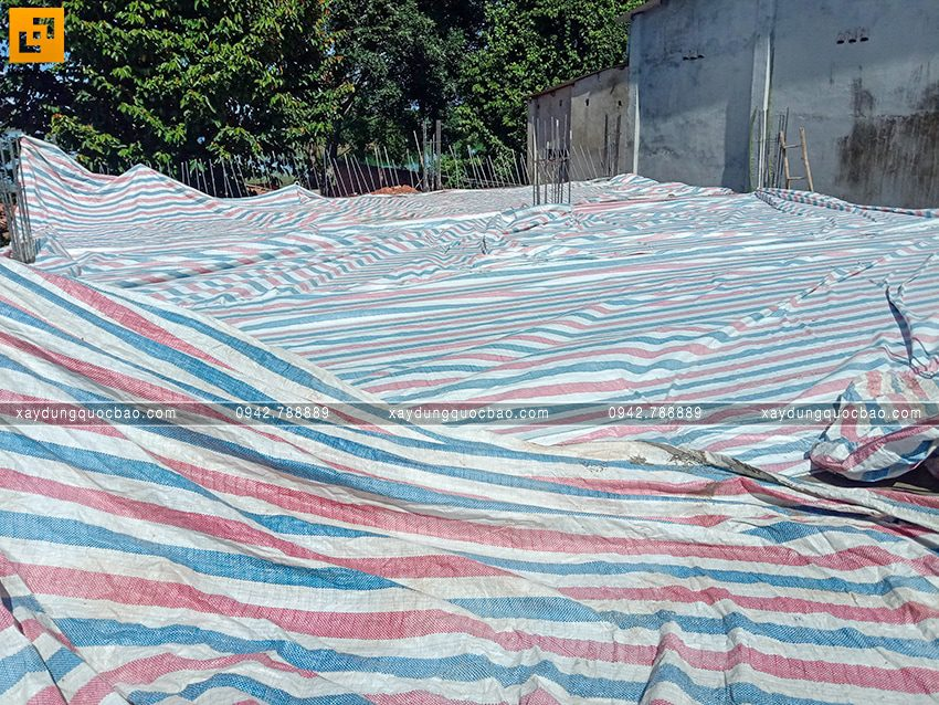 Thi công phần thô tầng trệt biệt thự vườn tại Vĩnh Cửu - Ảnh 14