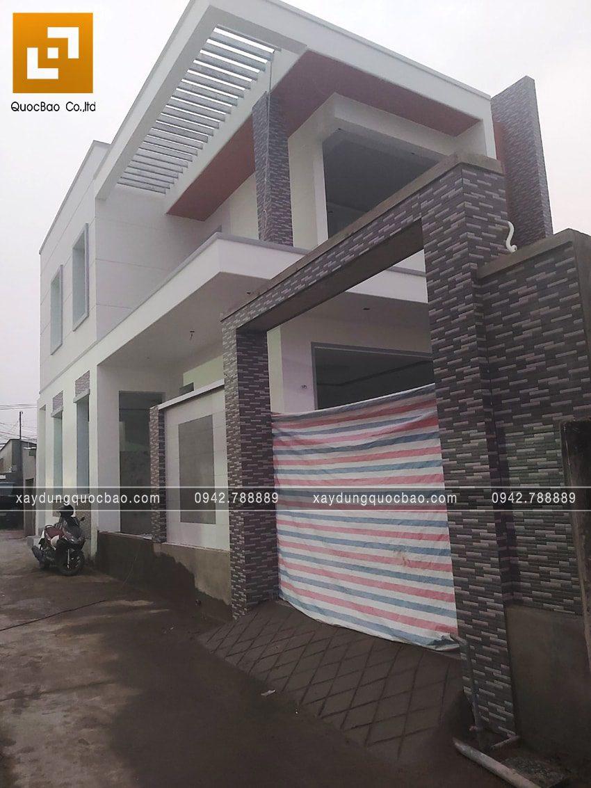 Thi công hoàn thiện nhà phố 2 tầng chị Ngân - Ảnh 17