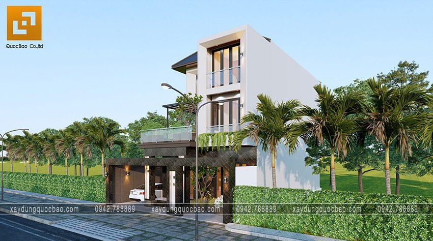 Xu hướng thiết kế nhà hiện đại sử dụng vật liệu nhôm, kính giúp ngoại thất ngôi nhà nhẹ nhàng hơn