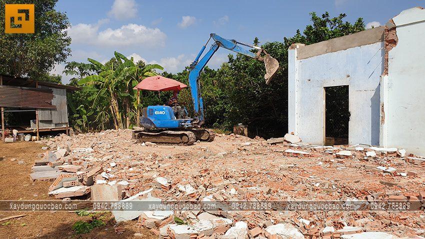 Khởi công nhà 3 tầng tại Bình Dương của gia đình anh Minh - Ảnh 4