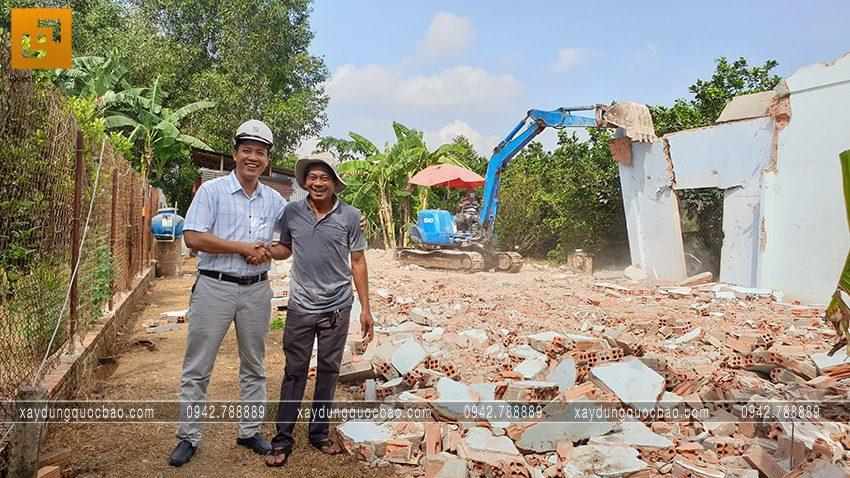 Khởi công nhà 3 tầng tại Bình Dương của gia đình anh Minh - Ảnh 3