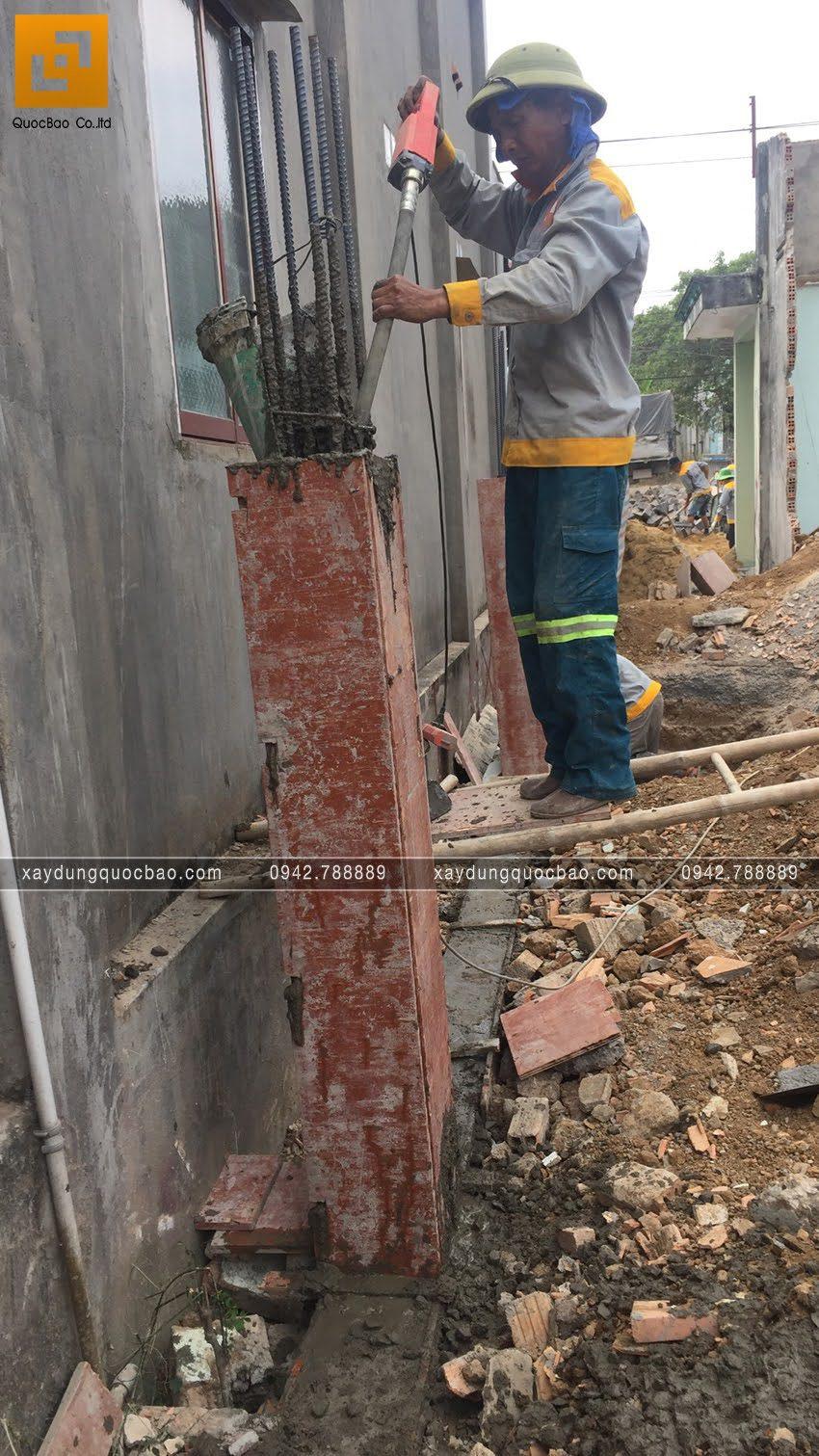 Khởi công nhà phố 3 tầng tại Vĩnh Cửu của chú Thanh - Ảnh 22