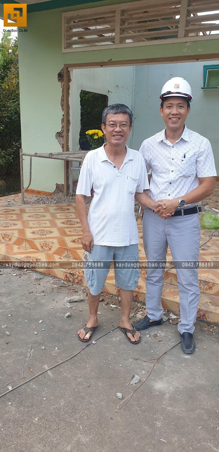 Khởi công nhà phố 3 tầng tại Vĩnh Cửu của chú Thanh - Ảnh 4