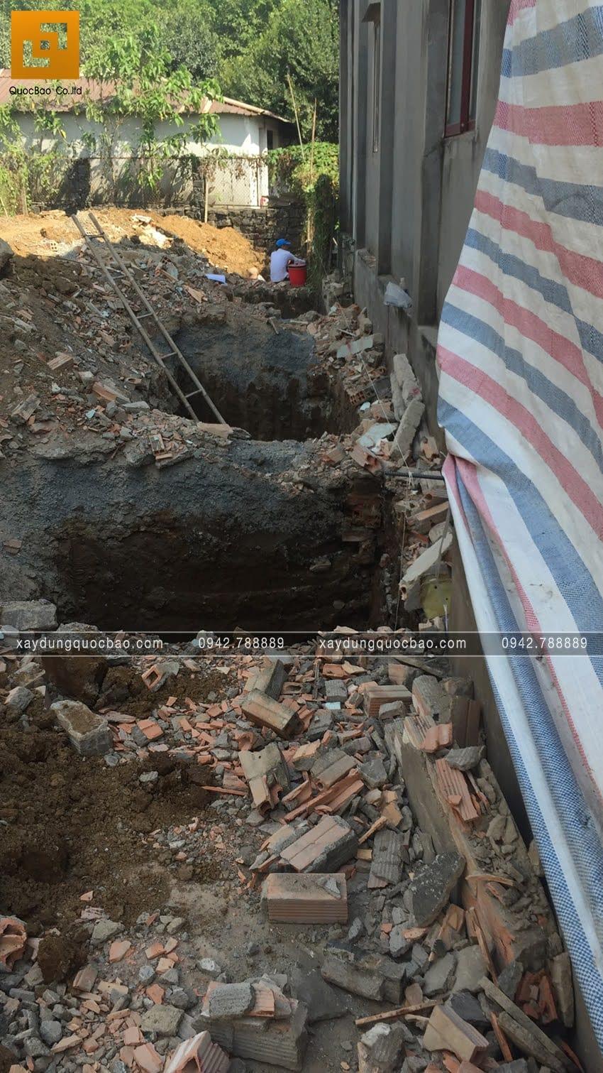 Khởi công nhà phố 3 tầng tại Vĩnh Cửu của chú Thanh - Ảnh 8