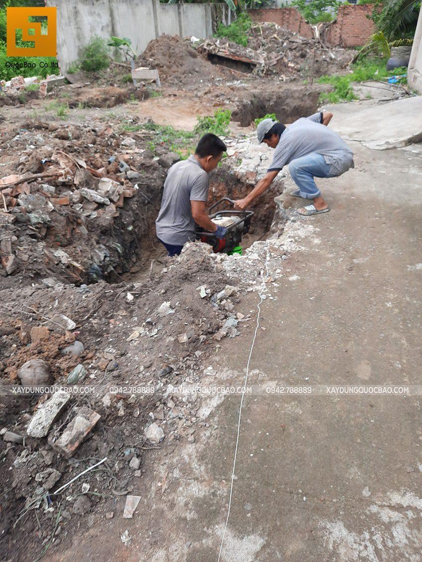 Khởi công nhà mái lệch tại Vĩnh Cửu - Ảnh 7