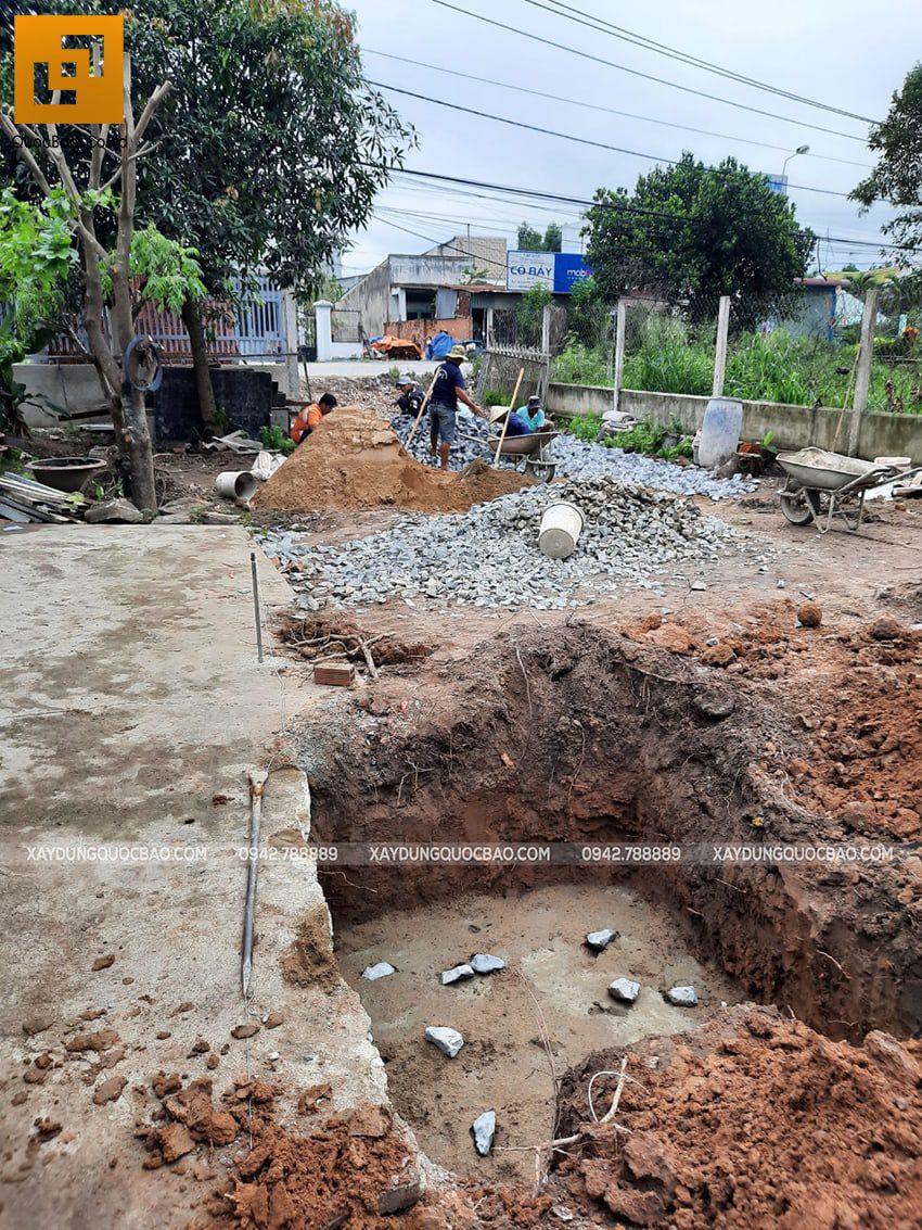 Khởi công nhà mái lệch tại Vĩnh Cửu - Ảnh 4