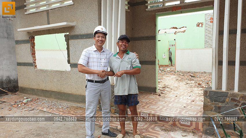 Khởi công nhà mái Nhật 2 tầng gia đình anh Tiến tại Bình Dương - Ảnh 2
