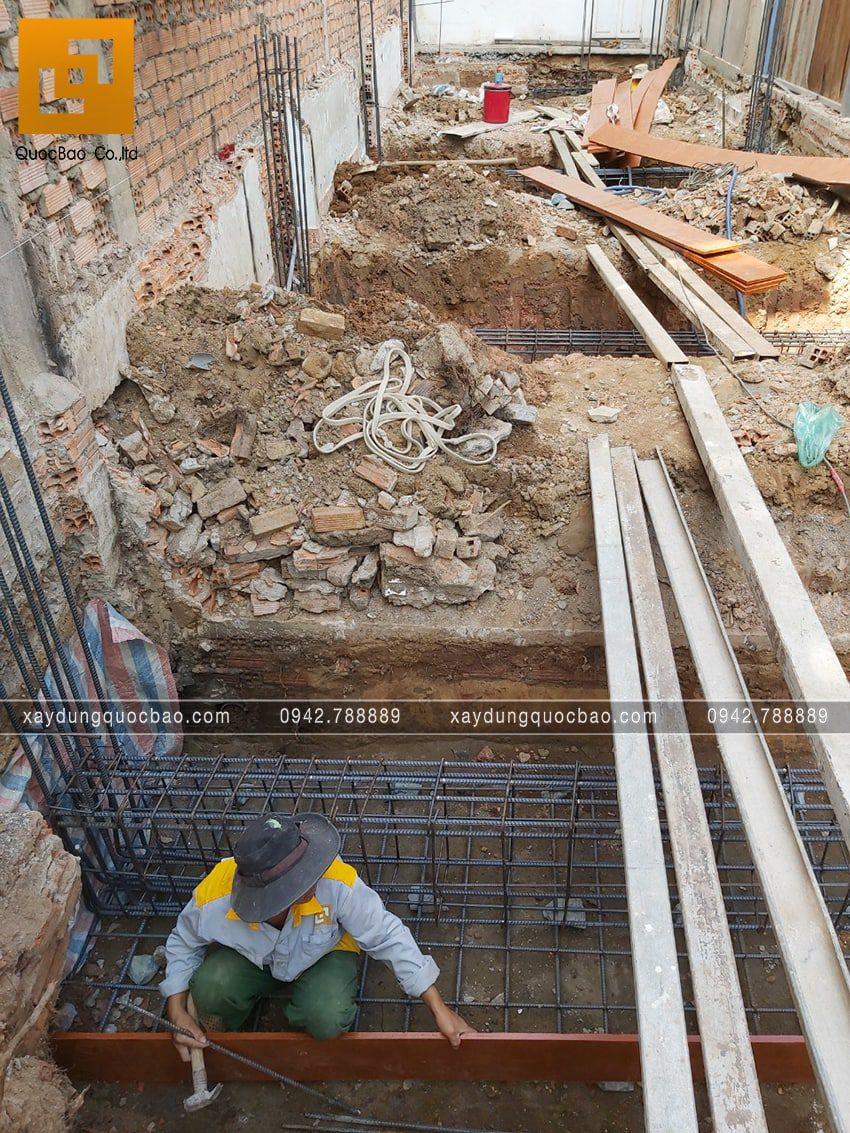 Khởi công nhà 3 tầng hiện đại tại Biên Hòa của bác Ngọc - Ảnh 11