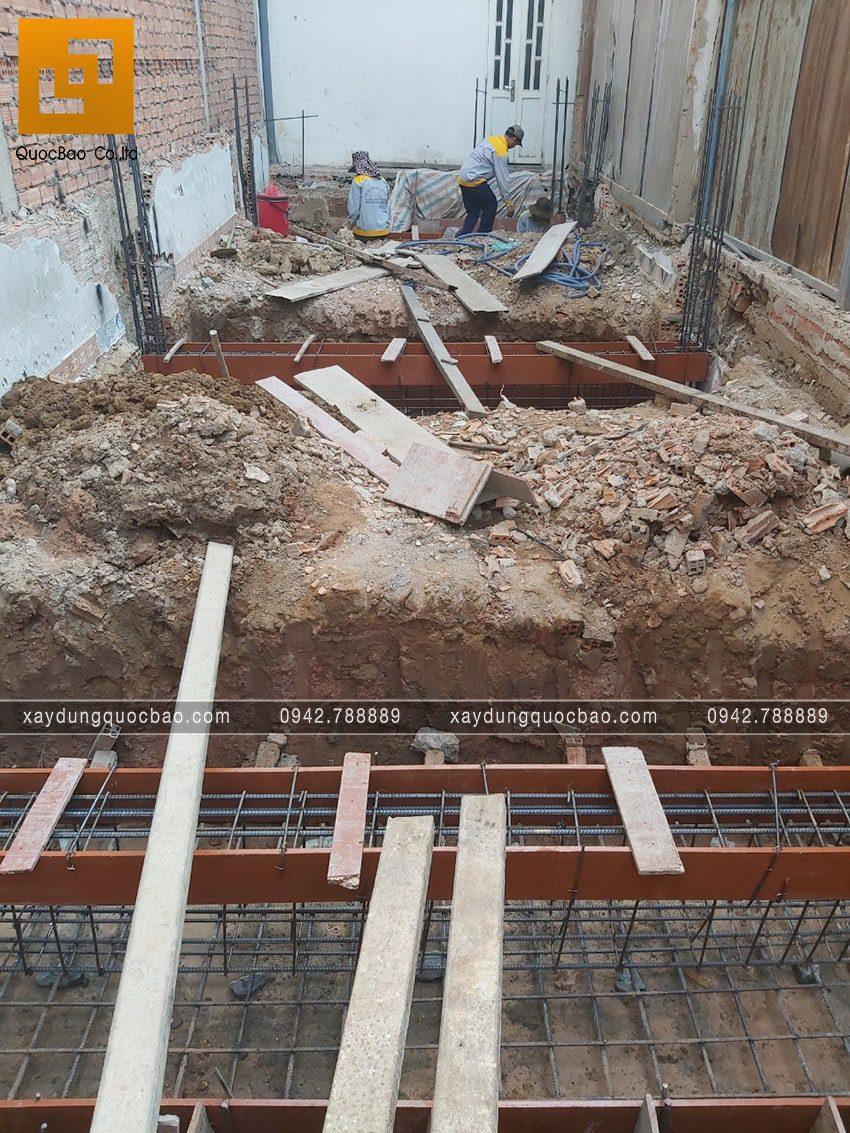 Khởi công nhà 3 tầng hiện đại tại Biên Hòa của bác Ngọc - Ảnh 14